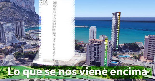 El último grito en urbanismo, 30 pisos de carácter residencial, afortunadamente no tiene la licencia concedida.